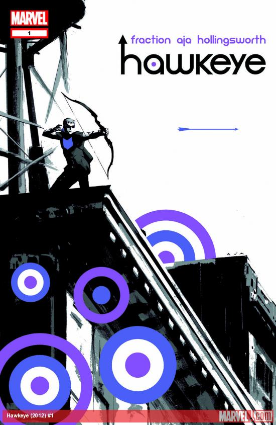 Hawkeye (2012) #1 cover by David Aja
