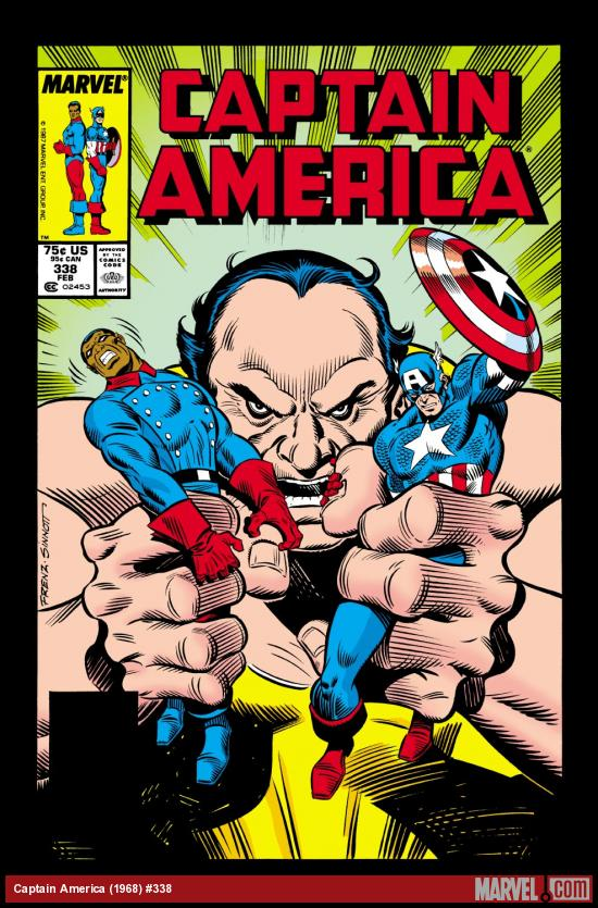 Captain America (1968) #338 Cover