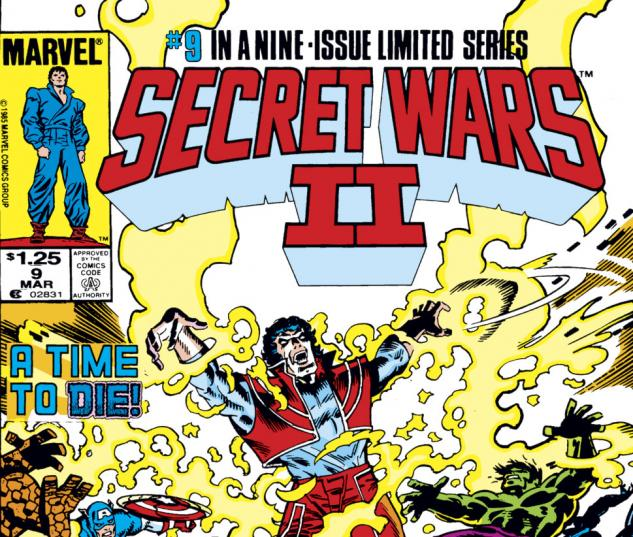 Secret Wars II (1985) #9 Cover