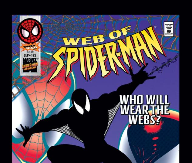 Web of Spider-Man (1985) #128 Cover