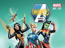 MIGHTY AVENGERS 2 CAMPBELL AVENGERS COSPLAY VARIANT (INF, WITH DIGITAL CODE)