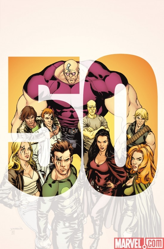 Cover for X-FACTOR #50, art by David Yardin.
