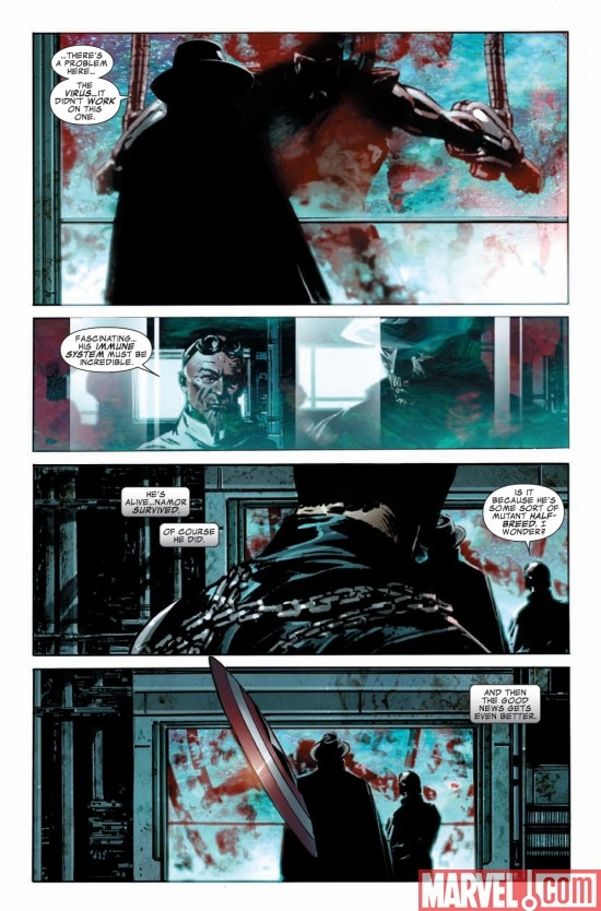 CAPTAIN AMERICA # 48 preview page 6