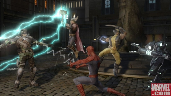 Marvel: Ultimate Allianc 2 screenshots