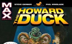 HOWARD THE DUCK TPB COVER