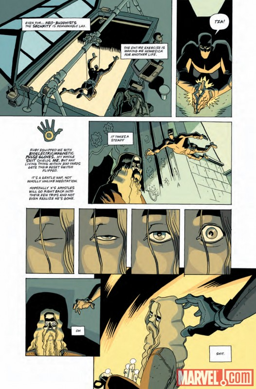 CASANOVA #3 preview art by Fabio Moon and Gabriel Ba