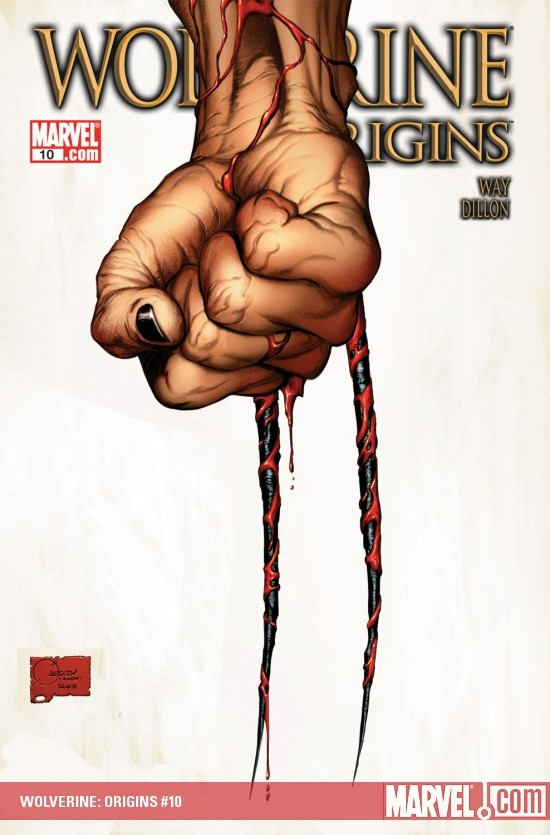 WOLVERINE: ORIGINS (2008) #10 COVER