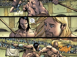 ULTIMATE COMICS THOR #2 preview page by Carlos Pacheco