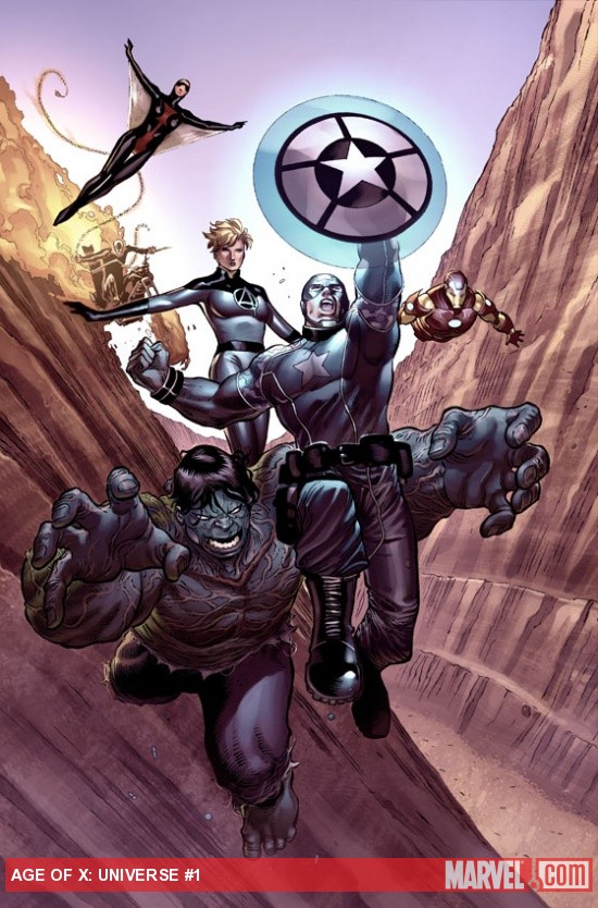 Age of X: Universe #1 preview art by Khoi Pham