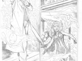 Fear Itself: The Deep #1 pencil art by Lee Garbett