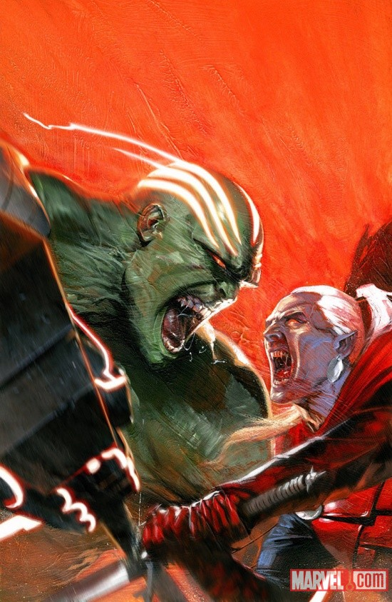 Fear Itself: Hulk vs Dracula