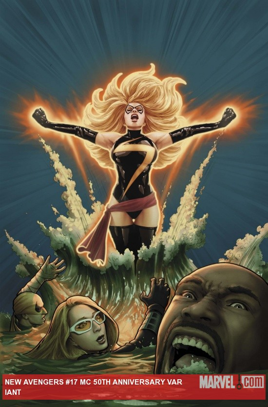 New Avengers (2010) #17, Mc 50th Anniversary Variant