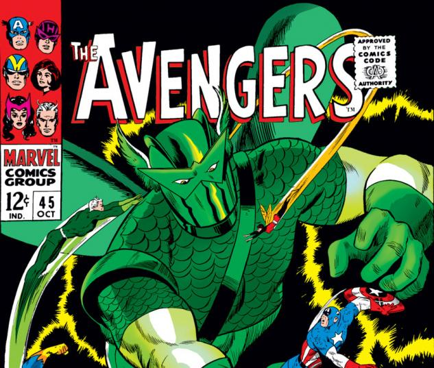 Avengers (1963) #45 cover