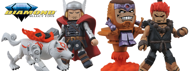 Marvel vs. Capcom 3 Minimates