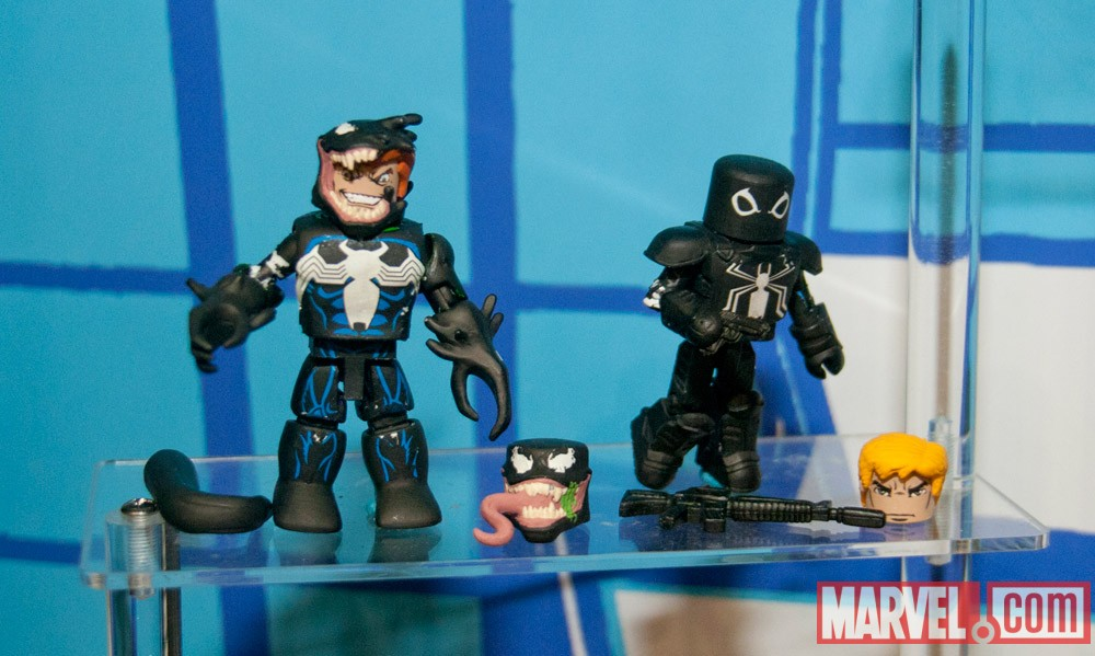 Venom and Flash Thompson Minimates from Diamond Select Toys