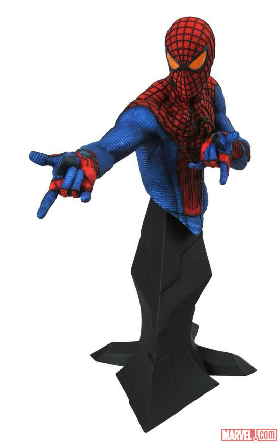 """The Amazing Spider-Man"" bust by Diamond Select Toys designed by Gentle Giants Studios"