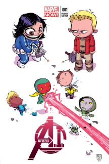 Avengers A.I. #1  (Young Variant)