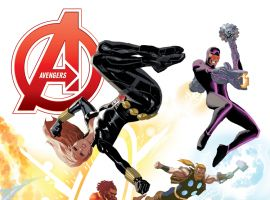 AVENGERS 22 ACUNA AVENGERS 50TH ANNIVERSARY VARIANT (INF, WITH DIGITAL CODE)