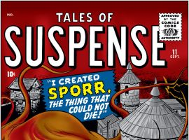 Tales of Suspense (1959) #11 Cover