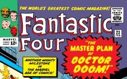 Fantastic Four (1961) #23 Cover