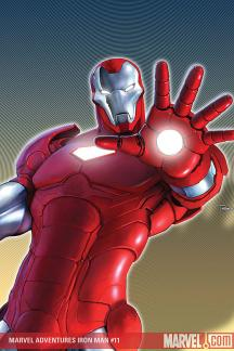 Marvel Adventures Iron Man (2007) #11