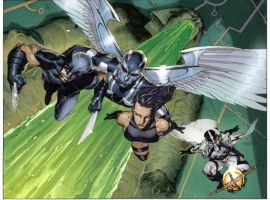 UNCANNY X-FORCE #1 preview art by Jerome Opena 4