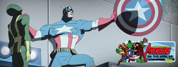 The Avengers: EMH! Voicing Captain America