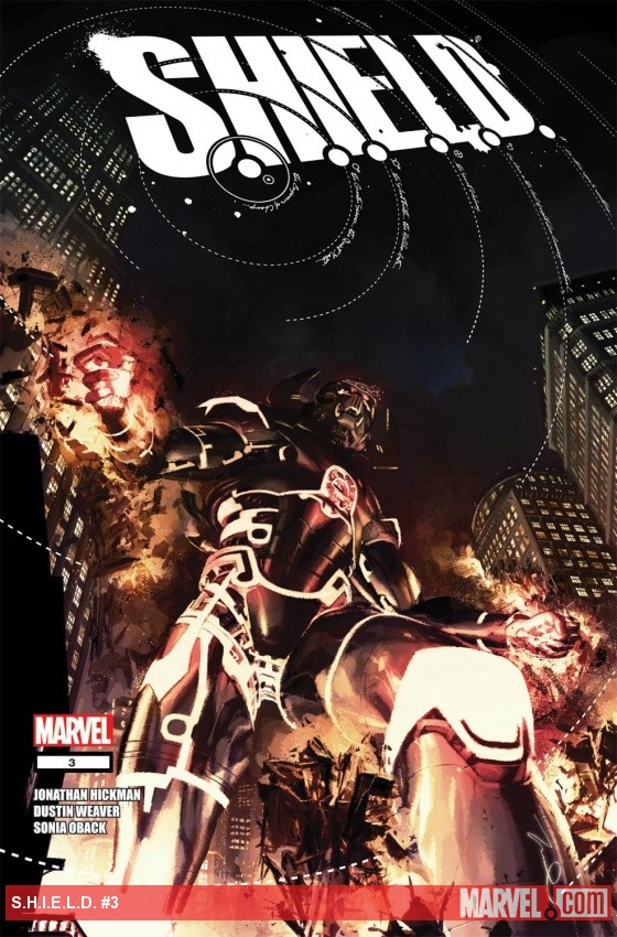 S.H.I.E.L.D. (2011) #3 cover