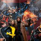 NYCC 2012: Kitty Pryde & Gambit Cosplayers on the Marvel Stage
