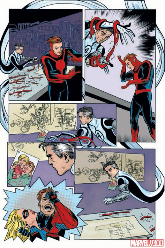 FF (2012) #1 preview art by Mike Allred