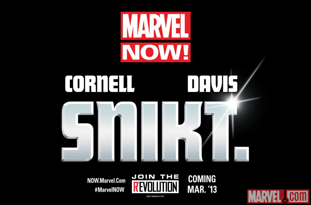 The Future of Marvel NOW! is Snikt