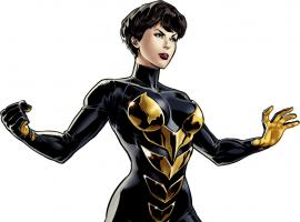 Wasp character art from Marvel: Avengers Alliance