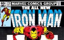 Iron Man (1968) #174 Cover