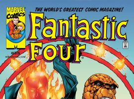 Fantastic Four (1998) #35 Cover