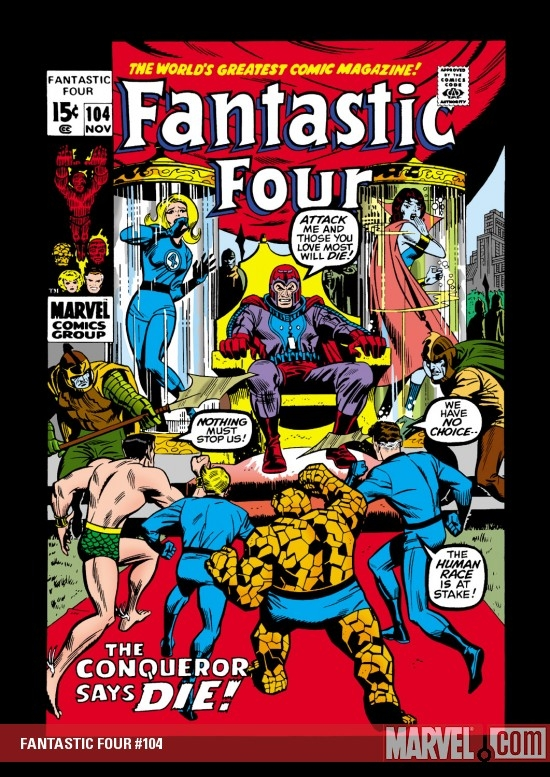 FANTASTIC FOUR #104