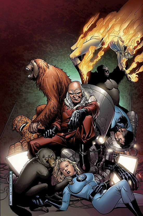 FANTASTIC FOUR: FOES (2007) #5 COVER
