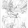 Fear Itself: The Fearless #5 preview pencils by Mark Bagley