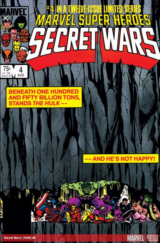 Secret Wars (1984) #4