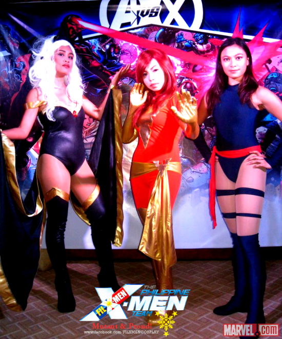 Avengers VS X-Men Release Party - Philippines