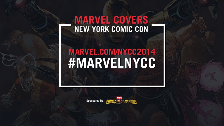New York Comic Con 2014 signing schedule