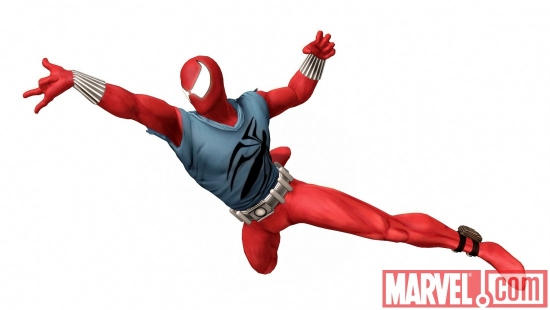 ''Spider-Man: Shattered Dimensions'' Scarlet Spider costume