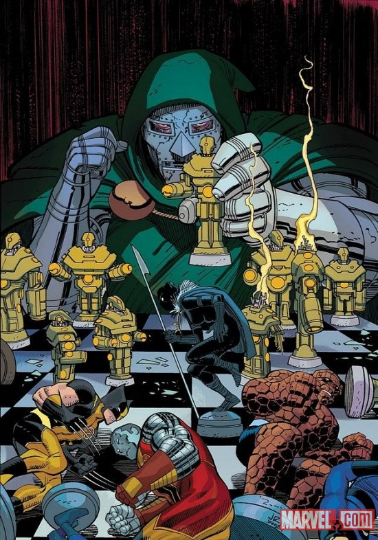 Doctor Doom by John Romita Jr.