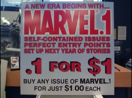 Collector's Paradise Marvel Point One Display