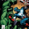 Incredible Hulks #624 variant cover by Dale Keown (Captain America 70th Anniversary Variant Cover)