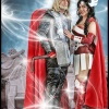 Thor Costumes: Jay Tallsquall as Thor and Rosalind Friday as Sif