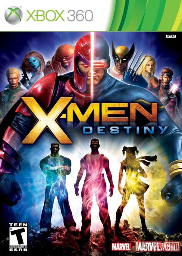 X-Men Destiny- XBox Box Art