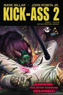 Kick-Ass 2 (2010) #2 (2nd Printing Variant)