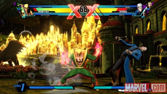 Ultimate Marvel vs. Capcom 3 Iron Fist Screenshot 14