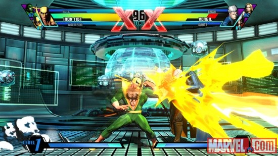 Ultimate Marvel vs. Capcom 3 Iron Fist Screenshot 8