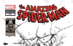 Amazing Spider-Man (1999) #617, Rhino is Coming Variant